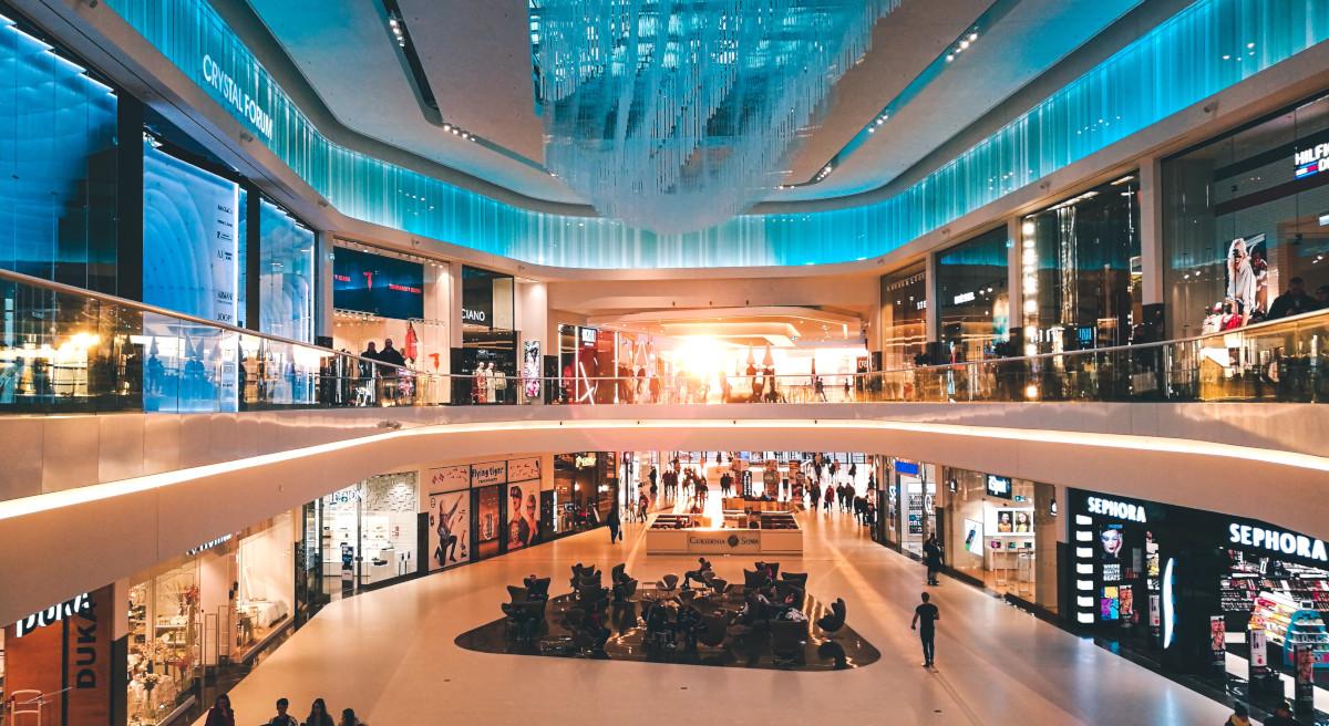 Szklane centra handlowe
