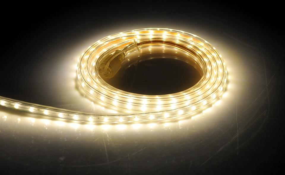 jednobarwna taśma LED