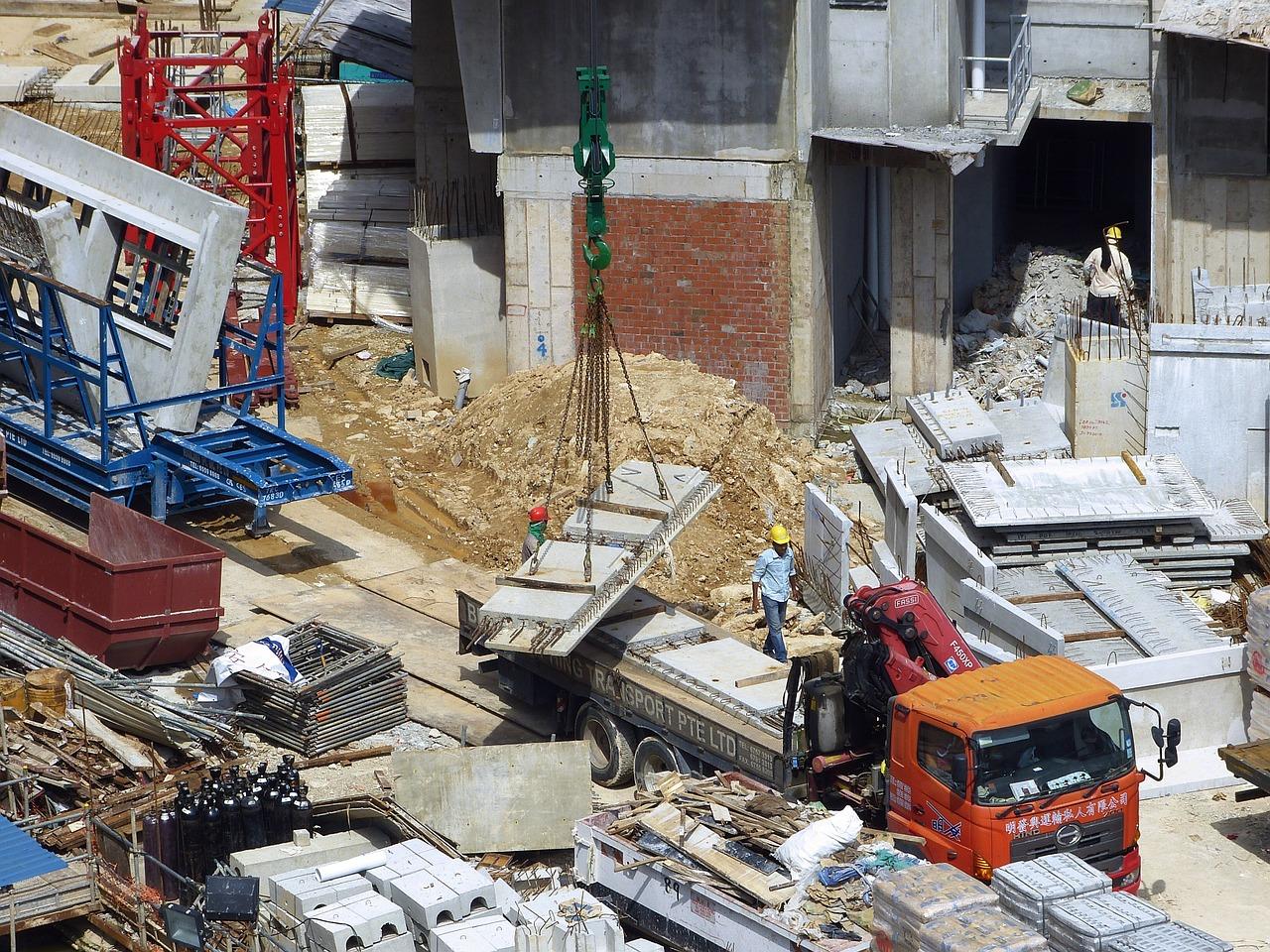 Jak zabezpieczyć plac budowy