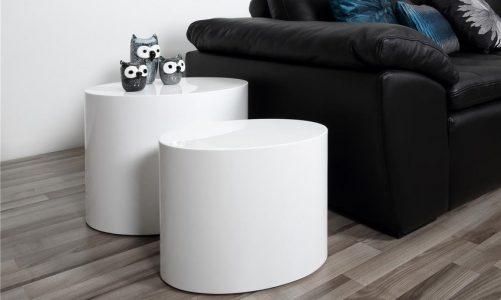 Małe stoliki kawowe - idealne rozwiązanie do mieszkania w bloku